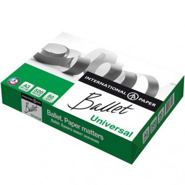 Бумага BALLET UNIVERSAL, ф. А3, яркость 94%, белизна 146% CIE, 80 г/м2, 500 л.