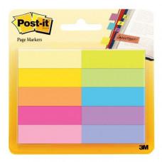 670-10AB Набор бумажных клейких закладок Post-it®, 10 цв.*50 шт.
