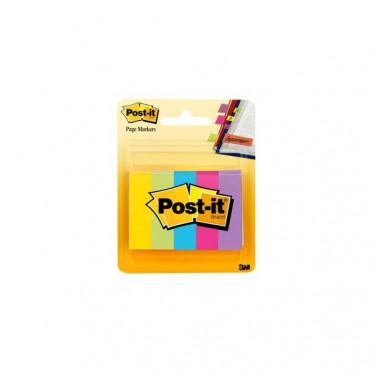670-5AU Набор бумажных клейких закладок Post-it®, 5 цв.*100 шт.
