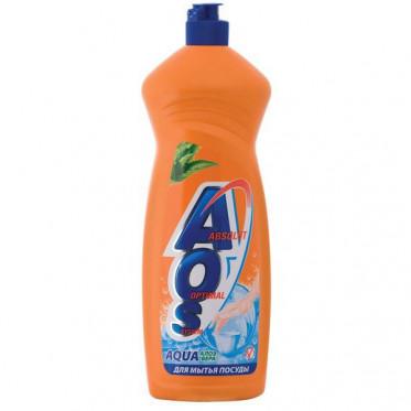Средство для мытья посуды AOS, 1 л, в ассорт.