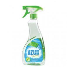 Средство чистящее AZUR, для стекол, с распылителем, антистатик, СТОПгрязь, 0,500 мл