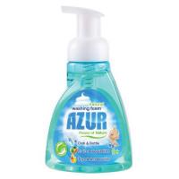 Средство для мытья посуды AZUR compact, а также для мытья овощей и фруктов, натуральная пена, 0,300