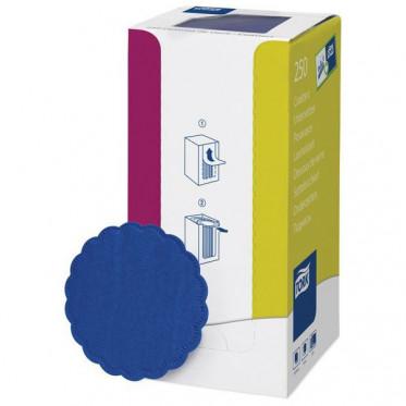 Tork коастер темно-синий, 8 см, диаметр 9 см, 250шт/уп