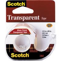 144SS-ENG Лента Scotch® клейкая, прозрачная, на мини-диспенсере, 12.7 мм x 7.62 м