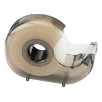 Диспенсер (дымчатый) для клейких лент шириной до 19 мм и длиной до 33 м. Поставляется без ленты