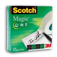 Клейкая лента Magic™ (невидимая после наклеивания) в картонной коробке, 19 мм х 33 м.