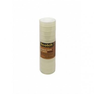 500-1210 Лента Scotch® 500 клейкая, 12 рулонов, 12мм х 10м