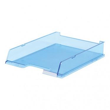 HAN лоток для бумаг с окном прозрачно-синий