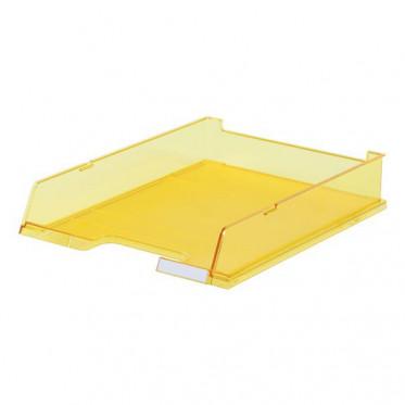 HAN лоток для бумаг с окном прозрачно-желтый
