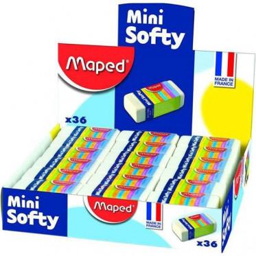 SOFTY MINI Ластик мягкий малый, в картонном футляре, сделано во Франции