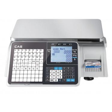 Торговые весы CAS CL3000J с печатью этикеток